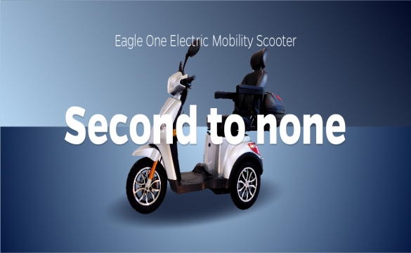 Eagle One Electric Mobility Scooter: Second to None